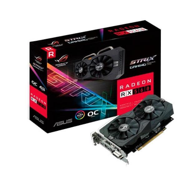 Asus AMD Radeon RX560 4GB – Gráfica