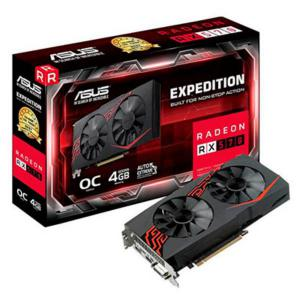 Asus AMD Radeon RX 570 Expedition OC 4GB – Gráfica