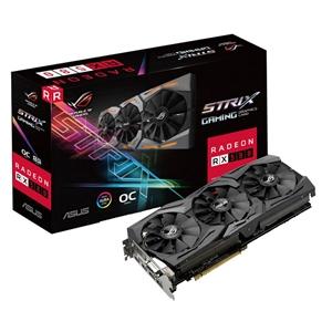 Asus AMD Radeon Strix RX580 8GB OC – Gráfica