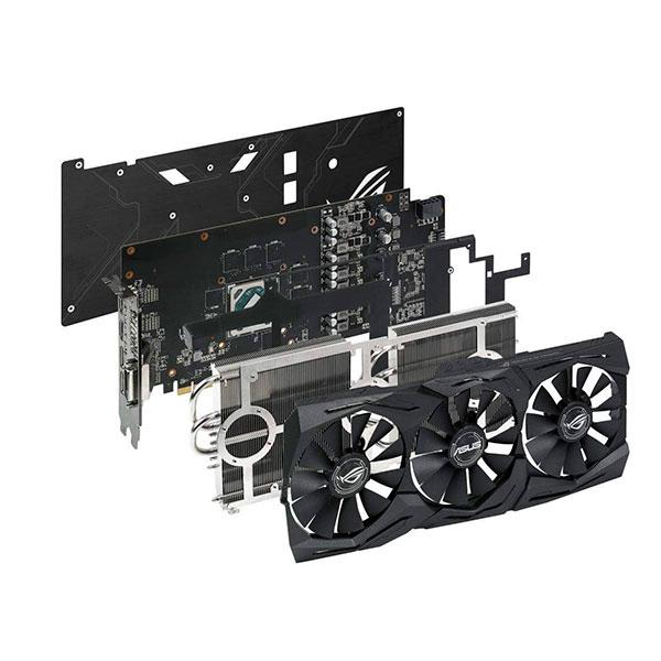 Asus AMD Radeon RX580 Strix 8GB Gaming – Gráfica