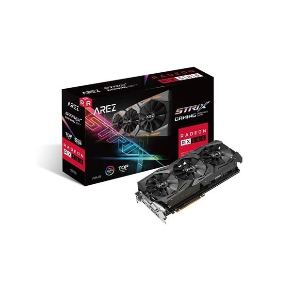 Asus Arez AMD Radeon RX580 Strix T8G Gaming - Gráfica