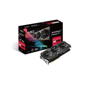 Asus Arez AMD Radeon RX580 Strix OC 8GB - Gráfica