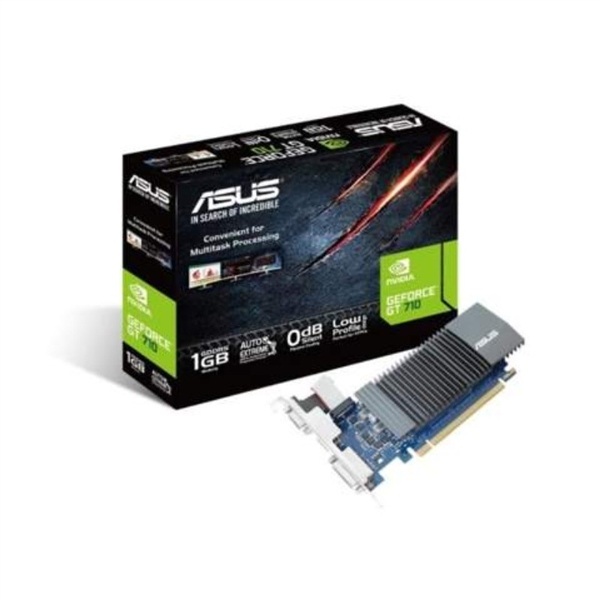 Asus Nvidia GeForce GT710 Silent 1GB DDR5 BRK - Gráfica