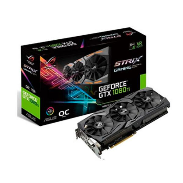 Asus Nvidia GeForce GTX1080 Ti Strix Gaming OC – Gráfica