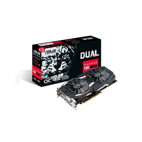 ASUS Radeon RX580 Dual O4G 4GB – Gráfica