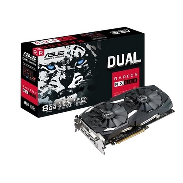 Asus AMD Radeon RX 580 Dual 8GB – Gráfica