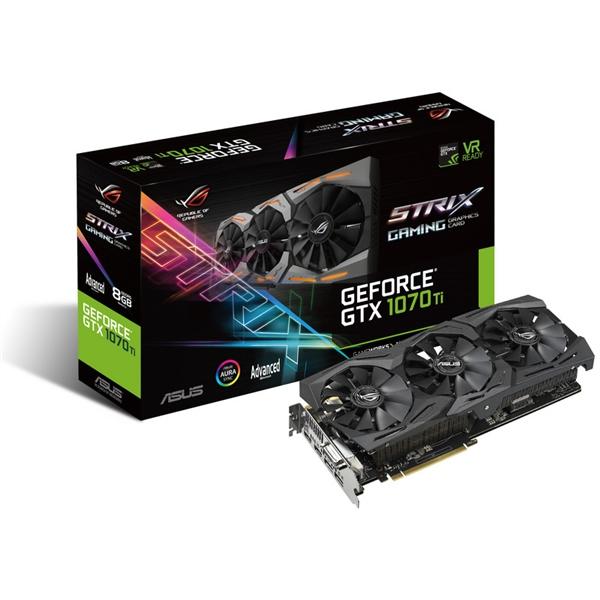 Asus Nvidia GeForce GTX 1070 Ti A8G 8G – Gráfica