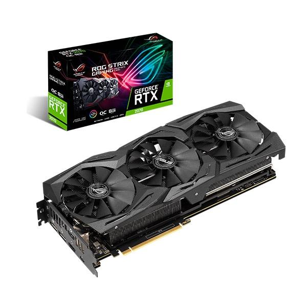 Asus ROG Nvidia GeForce RTX 2070 Strix Gaming OC 8GB - VGA