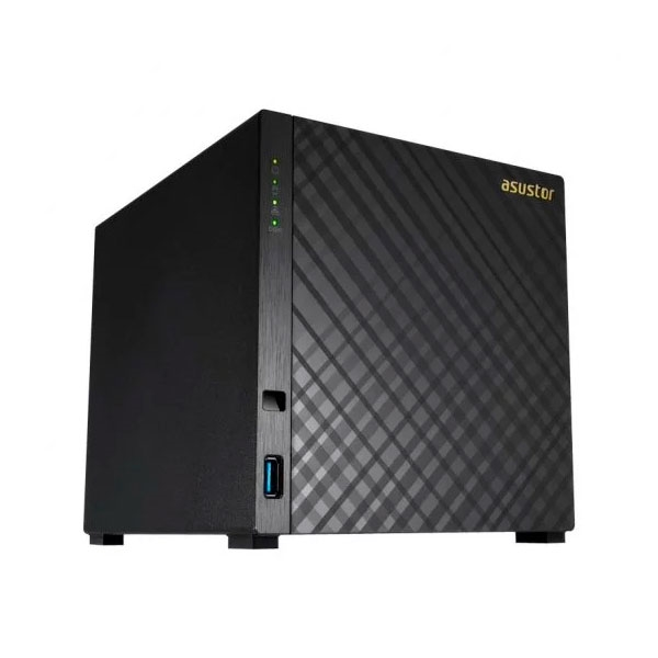 Asustor AS3104T 4 Bahías 2-Core 2.48GHz 2GB DDR3L - NAS