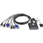 Aten CS22U-AT 2 PC VGA USB – KVM
