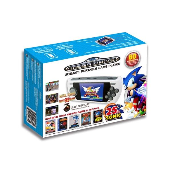 Consola Retro SEGA Mega Drive Portable Sonic 25 aniversario