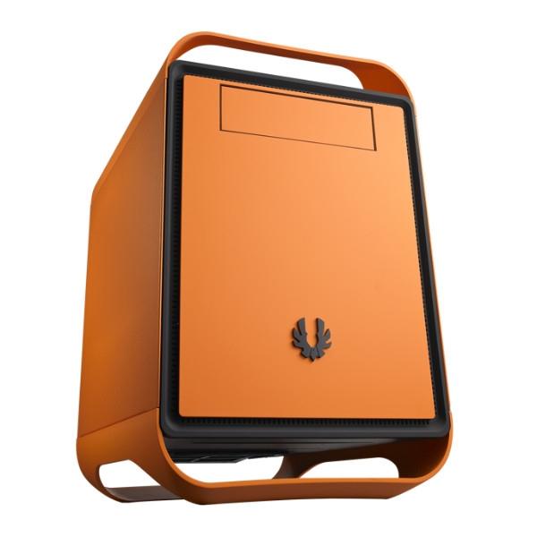 BitFenix Prodigy M Micro-ATX naranja - Caja