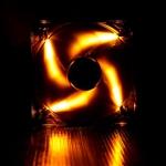 Bitfenix spectre 12cm LED naranja - Ventilador