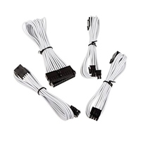 Bitfenix KIT Alchemy 6+2P/8P/24P blanco - Cable moding