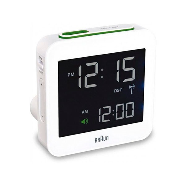 Braun BNC 009 Digital Multibanda Blanco – Despertador