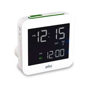 Braun BNC 009 Digital Multibanda Blanco – Despertador