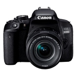 Canon EOS 800D EF-S  IS STM 18 – 55 mm – Cámara Réflex