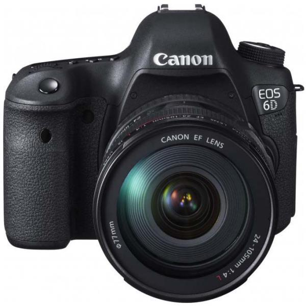Canon EOS 6D + EF IS STM 24 – 105 mm – Cámara Reflex