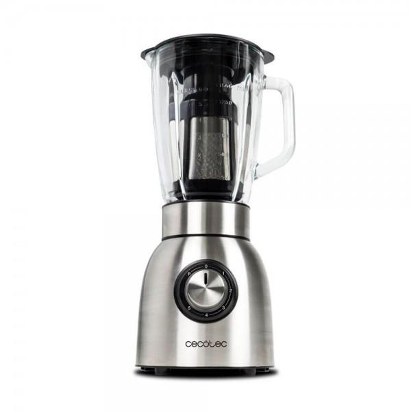 Cecotec Power Titanium 1250W – Batidora de vaso