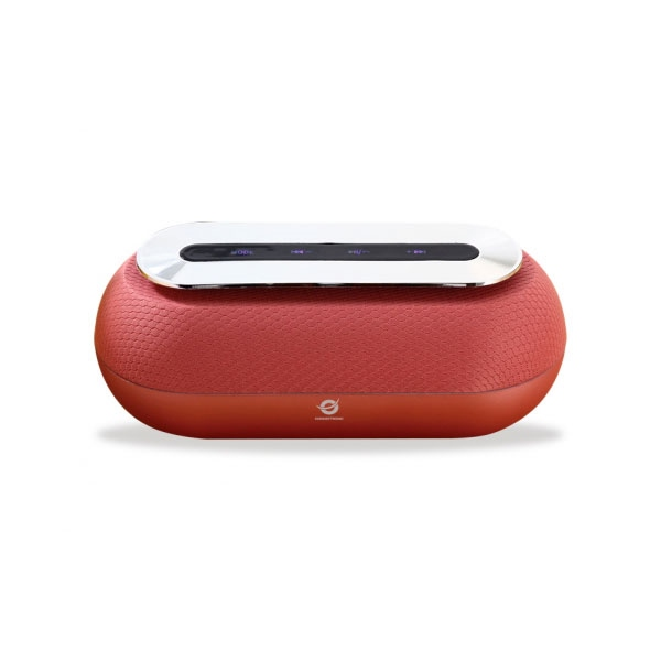 Conceptronic Dunkan rojo bluetooth 2 x 5W  – Altavoz