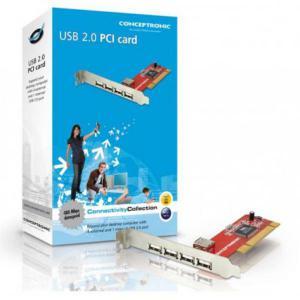 Conceptronic C480i5 Tarjeta PCI 5USB20 – Adaptador PCI