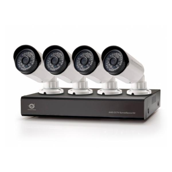 KIT VIDEOVIGILANCIA CONCEPTRONIC 720P 4 CANALES