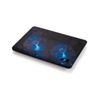 Conceptronic base refrigeradora 2 fan blue - Accesorio