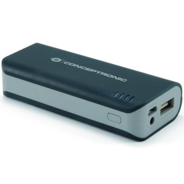 Conceptronic powerbank 4400 mAh – Powerbank