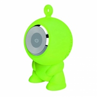 Conceptronic CSPKBTWPHFG verde  BT micro SD – altavoz