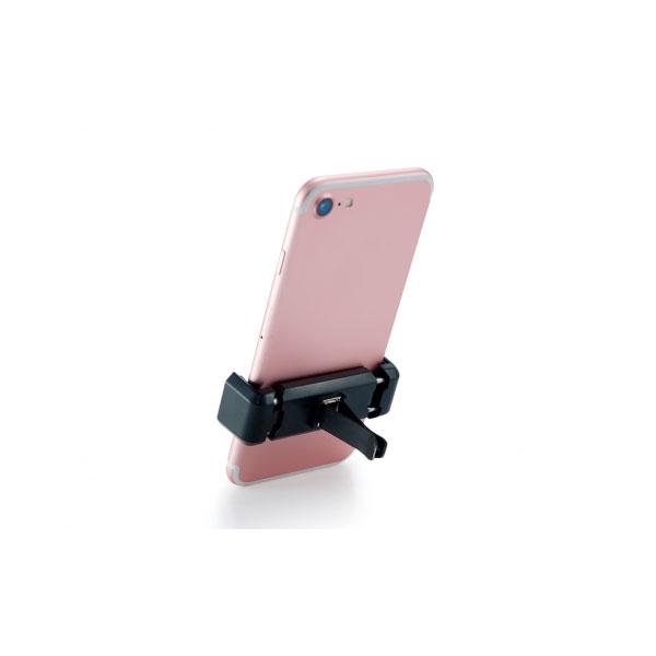 Conceptronic 2 USB cargador + soporte coche - Accesorio