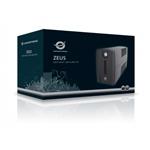 Conceptronic SAI ZEUS 01ES 650VA USB Protección LAN - SAI