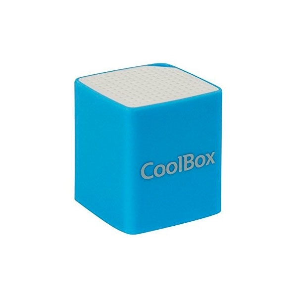 Coolbox Cube mini azul Bluetooth – Altavoz