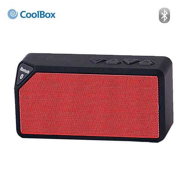 Coolbox Prisma rojo Bluetooth – Altavoz