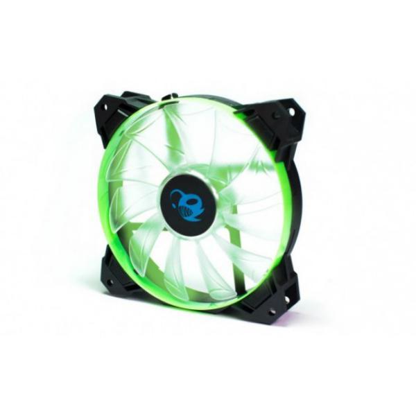 Coolbox Deepgaming Deepwind 12X12 LED verde – Ventilador