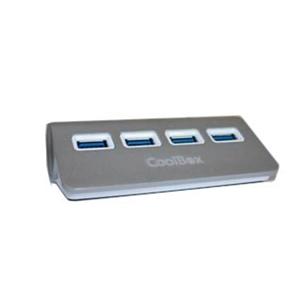 Coolbox hub-alu 2 4 puertos USB2.0 – Hub