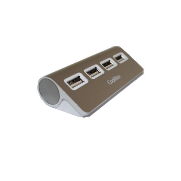 Coolbox hub alu 3 4 puertos USB3.0 – Hub