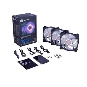 Cooler Master MasterFan Pro 120 RGB AP 3ud + controller
