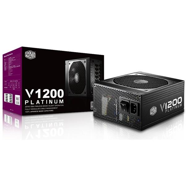 Cooler Master V1200 1200W full modular 80+ Platinum – F.A.