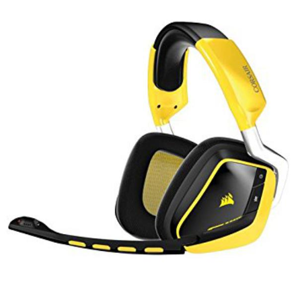 Corsair Gaming VOID Dolby 7.1 Wireless yellow – Auriculares