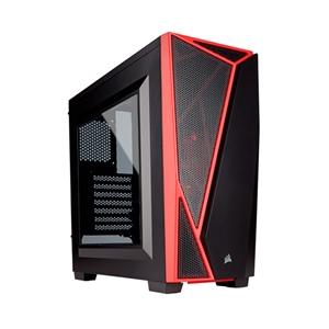 Corsair SPEC-04 roja y negra – Caja
