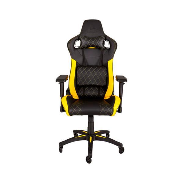Corsair gaming T1 race negra / amarilla – Silla