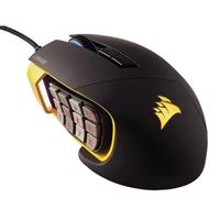 Corsair Gaming Scimitar PRO RGB negro amarillo – Ratón