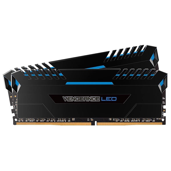 Corsair Vengeance DDR4 2666MHz 16GB (2×8) Led Azul – RAM