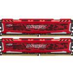 Crucial Ballistix DDR4 2400Mhz 8×2 16GB DIMM – Memoria RAM