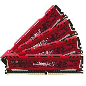 Crucial Ballistix Sport LT DDR4 2400MHz 16GB(4×4) CL16 – RAM