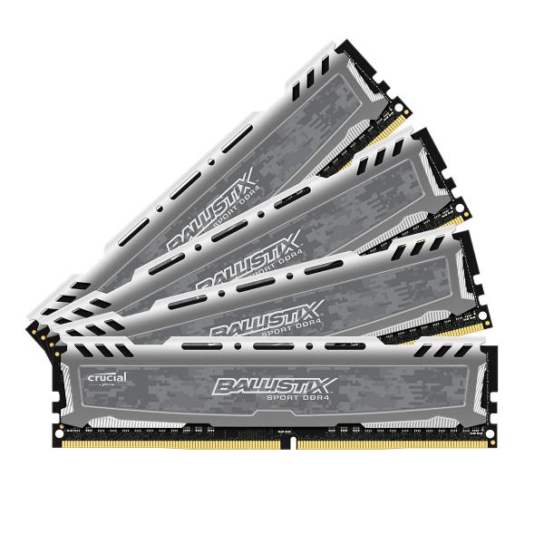 Crucial Ballistix Sport LT DDR4 2666MH 32GB(4×8) CL16 – RAM