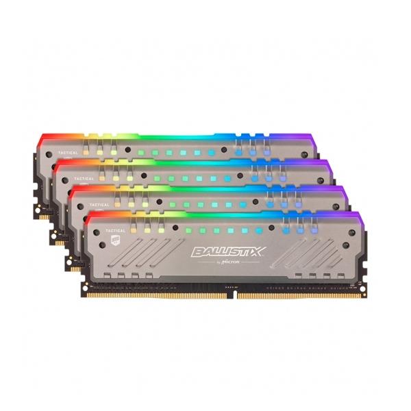 Ballistix Tracer RGB DDR4 3000MHz 64GB (16GBx4) - RAM