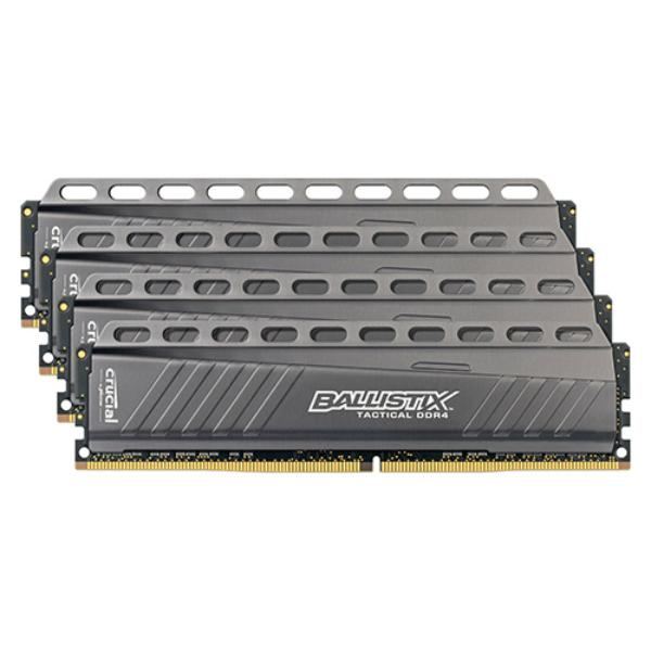 Crucial Ballistix Tactical DDR4 2666MHz 16GB(4×4) CL16 – RAM