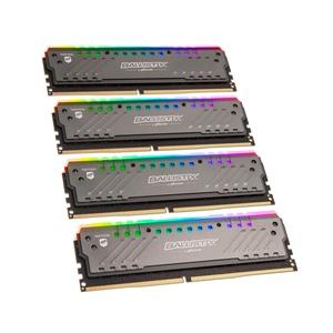 Ballistix Tracer RGB DDR4 2666MHz 32GB (8GBx4) - Memoria RAM