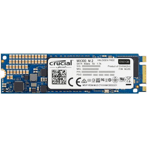 Crucial MX300 1TB M.2 SATA – Disco Duro SSD